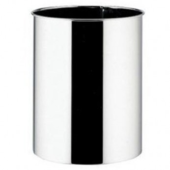 7 Litre Brilliant Steel Waste Bin