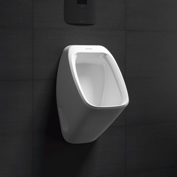 Water-Efficient Commercial Bathroom